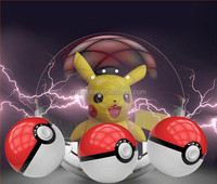 Big Promotion so Cheapest for Christmas Gifts 2nd Generation 2USB LED Light Pokemon Power Bank Pokeball Power Bank
