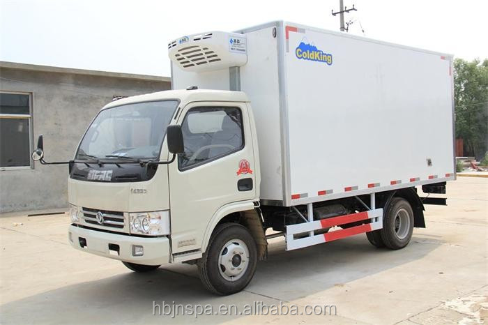 best price 3 ton small refrigerated box truck for sale buy 3 tons refrigerated truck cheap. Black Bedroom Furniture Sets. Home Design Ideas