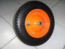 Pneumatic rubber wheel 4.00-8 or 3.50-8