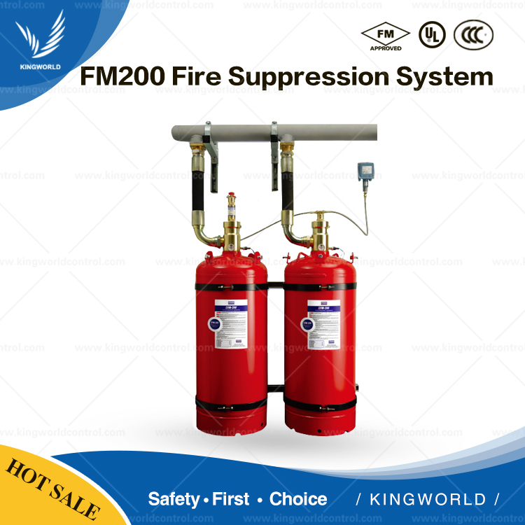 ANSUL FM200 Fire Suppression System with HFC-227ea Gas Fire Extinguisher