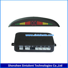 Waterproof Dual-Intelligent Compact LED Display Parking Sensor, rear parking sensor,parking assist system