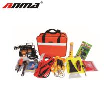 Safety kit roadside car emergency kit with booster cable