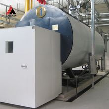 Heat Recovery Factory Direct Sell Natural Exhaust Gas Steam Boiler With Baltur Burner For Hfo Diesel Plant