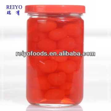 import canned red cherry fruit