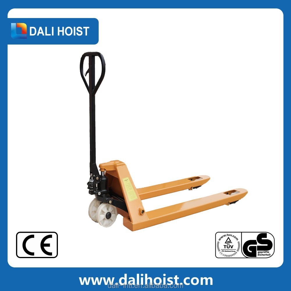 2015 alibaba hot sale stainless steel hand pallet truck promotion