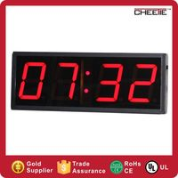 Home Goods Wall Clocks 4 Digit Large Small LED Digital Table Clock for Sale
