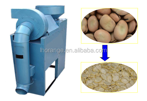 coffee bean broad bean Machine Peeling Beans and Peas with factory price