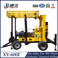 2015 Most Popular Portable Water Well Drilling Rig for Sale