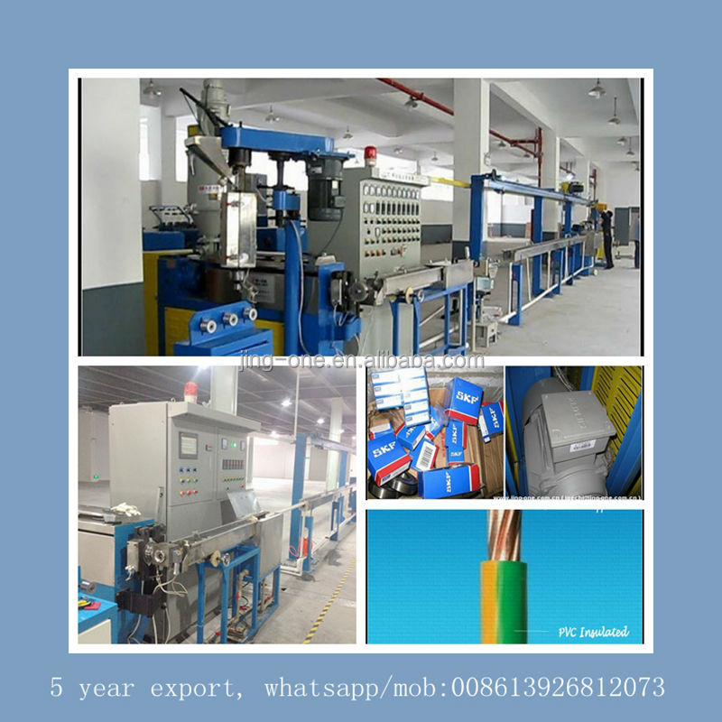 Algeria popular product 2 layer electric cable production line