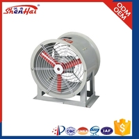 WF2 corrosion proofing explosion proof industrial wall fan