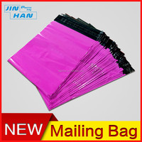 Non-bendable padded large polymer purple courier envelope