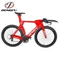 2017 New Designed Full Carbon fiber TT bike Frame DI2 Time Trial Carbon TT Frame