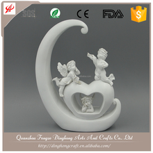 Resin Crafts White Angel,Unique Angel Home Decorations Angel Products Wholesale