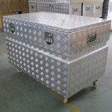 Waterproof Aluminium Truck Toolbox With Wheel BH-X1207085