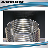 AURON/HEATWELL SS Coiled Tube/SS Cooling Coil/Air Cooled Condenser Coil