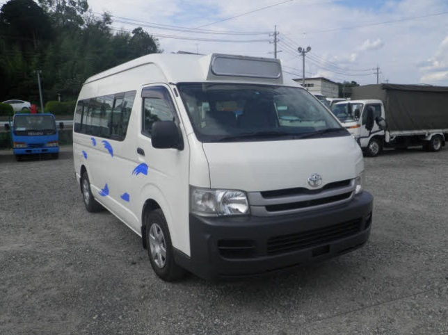 TOYOTA HIACE COMMUTER D-T DX SUPER LONG HR YK20986