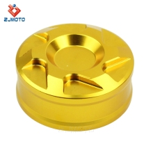 Cheap Gold Small Rear Oil Cup Cover Motorcycle Reservoir Cap For Kawasaki Z750 Ninja