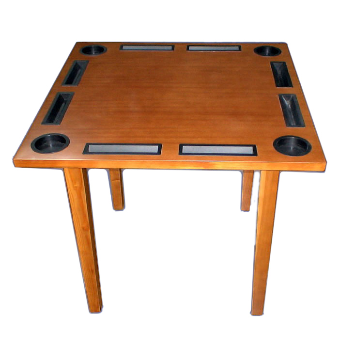 high quality wooden domino table