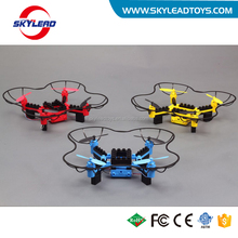 Romote control toy DIY building RC drone with light