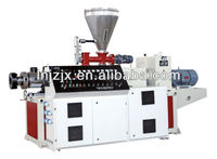 Conical Twin-screw Extruder production line/pvc panel extruder