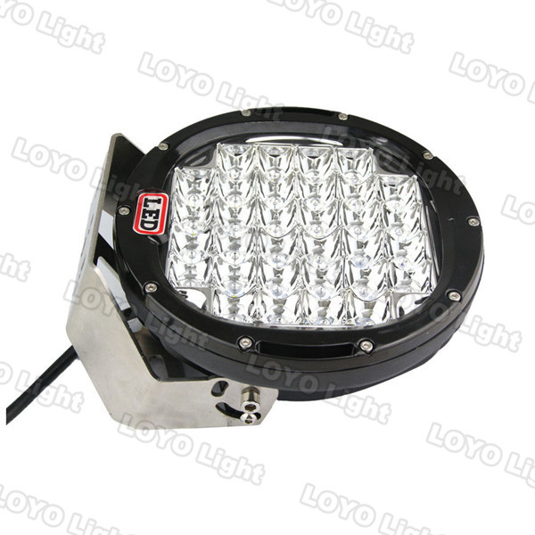 Promotion auto spare part 9 inch 96w offroad 12V Waterproof LED car work light