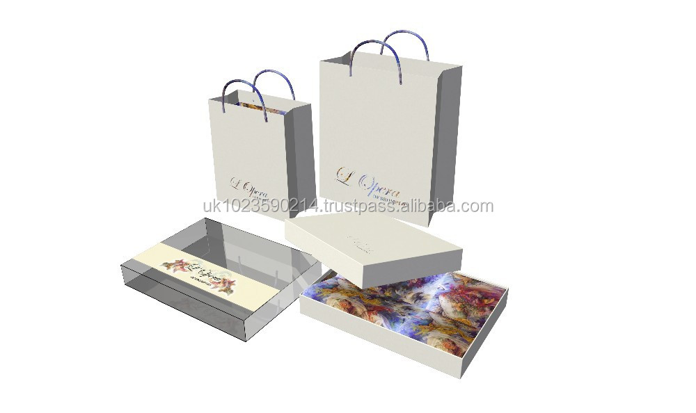 Luxury Box Packaging for Cakes, Custom made UV offset printing coated paper packaging