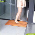 Spa Shower mat or Door Mat in Solid Teak Wood and Oiled