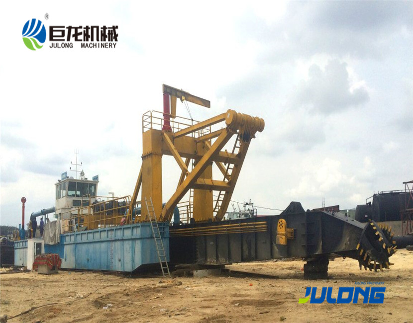 Julong 2200m3/hr Cutter Suction Dredger for Sale