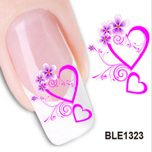 Nail art BLE water transfer sticker/decal
