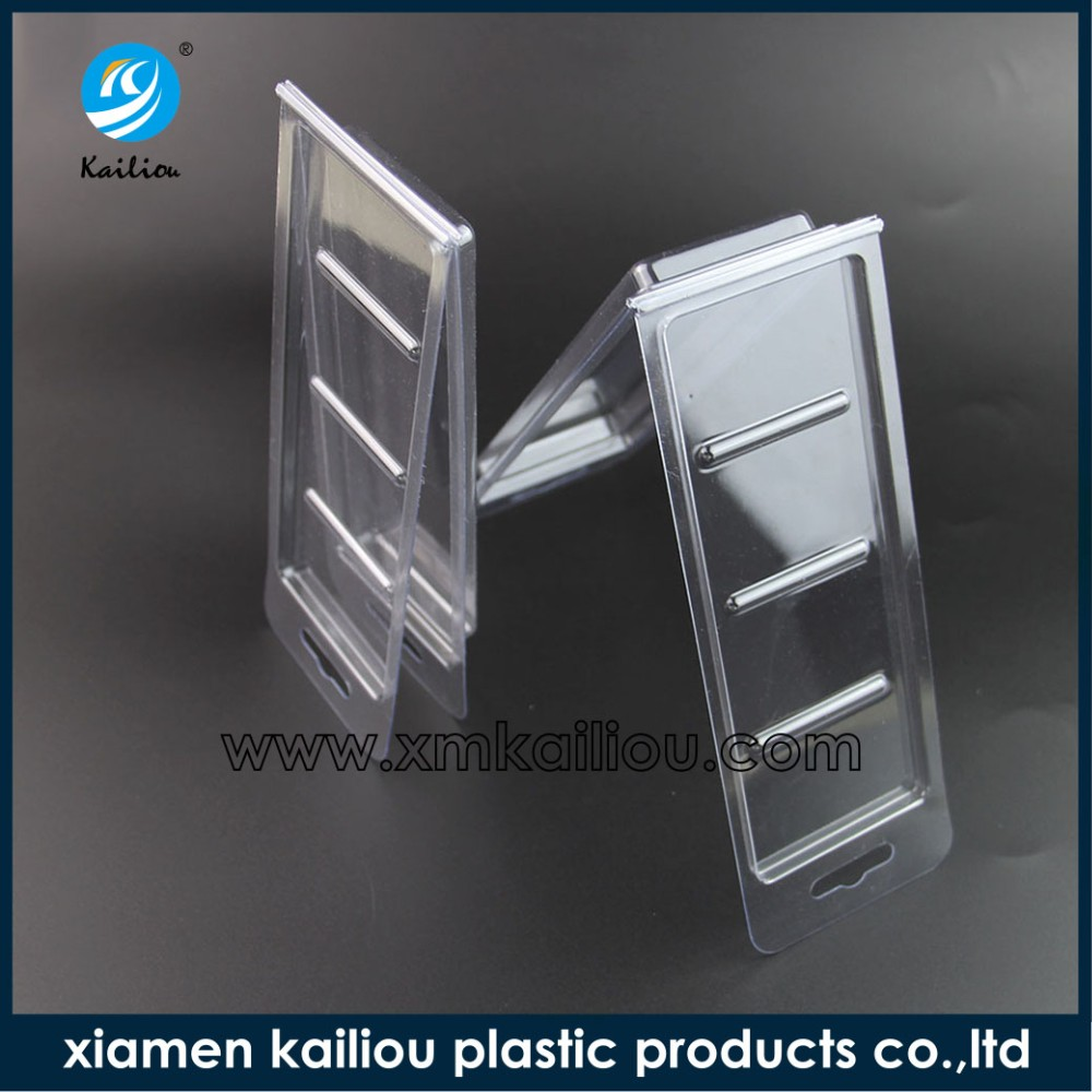 Xiamen Kailiou Pvc compartment boxes blister capsule plastic capsule shaped box