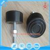 Professional black adjustable machine rubber leveling feet