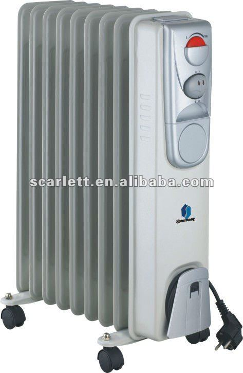 mobile oil heater