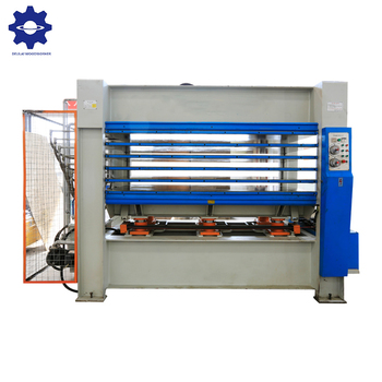 High efficiency hot press melamine laminating machine for plywood