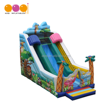 cheap fun child inflatable slide for park