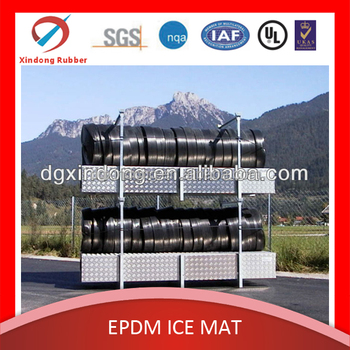 plastic Ice rink mats, ice rink epdm tubing mat, ice hockey rink cooling mat