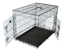 Variety Size Big Small Pet Cage Carrier For Dog Airline Approved , Wholesale Aluminum Large Dog Cage Carrier China Price
