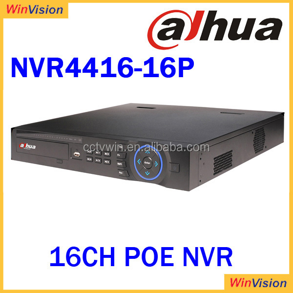 Dahua NVR4416-16P HDMI/VGA/TV Simultaneous Video output Network Video Recorder