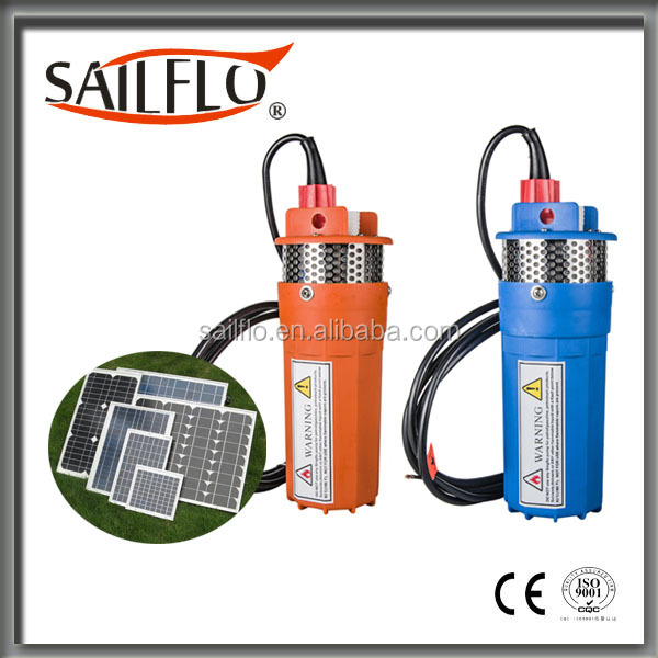 Sailflo 24V 6LPM DC 24V Submersible Deep Well Water Pump Solar Battery System for Pool Watering