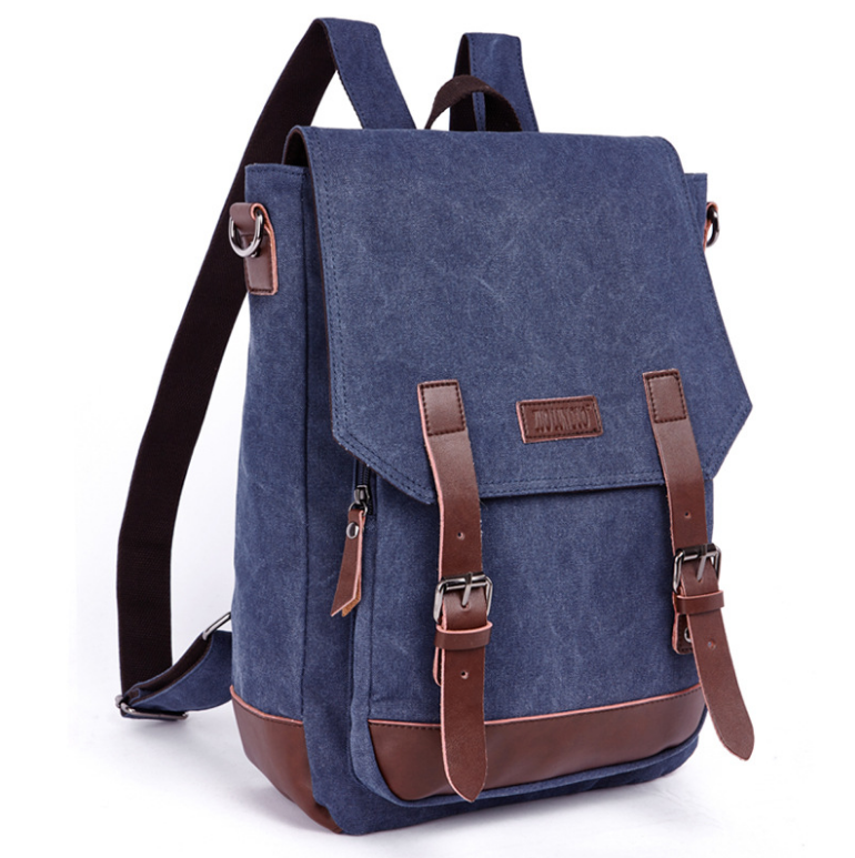 Wholesale cheap canvas school backpack bag canvas backpack for men