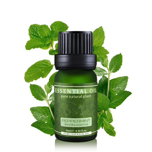 Clean Pores Improve Blackhead Relieve Tired Refreshing 100% Pure Peppermint Essential Oil Face Care Massage Oil