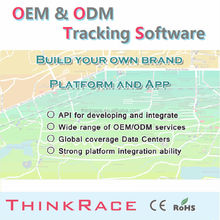 Global car alarm cell phone tracking software for pc /gps tracking system by Thinkrace
