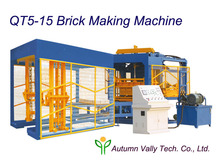 Service Machinery Overseas After-sales Service Provided Machine to Make Hollow Gypsum Block QT5-15