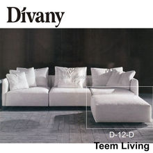 2015 Divany Furniture sofa set designs modern l shape sofa luxury sofa italy style