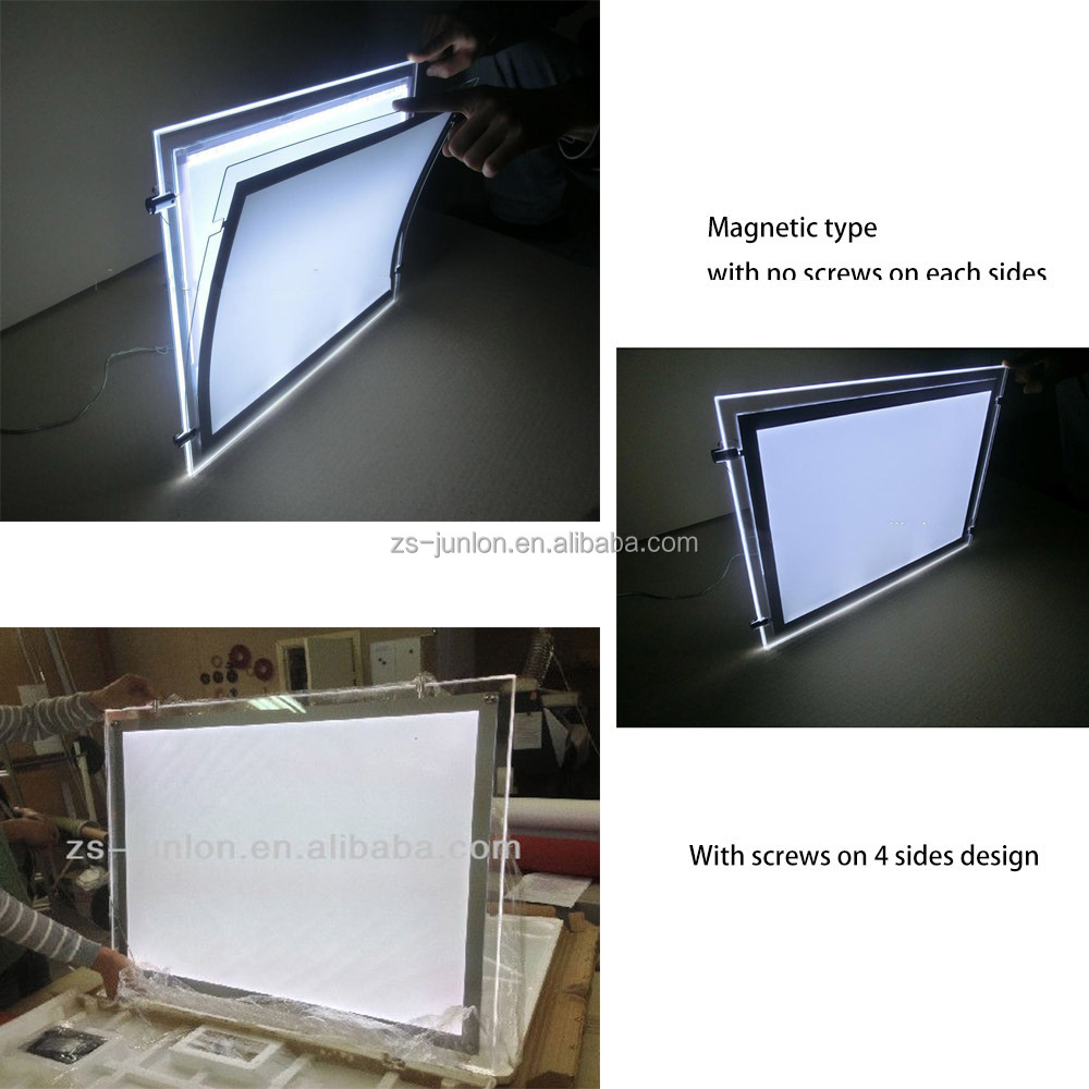 2015 New hanging type Illuminated real estate agent window display led cable wire display system  sc 1 st  Zhongshan Junlong Display Factory - Alibaba : light box window - Aboutintivar.Com