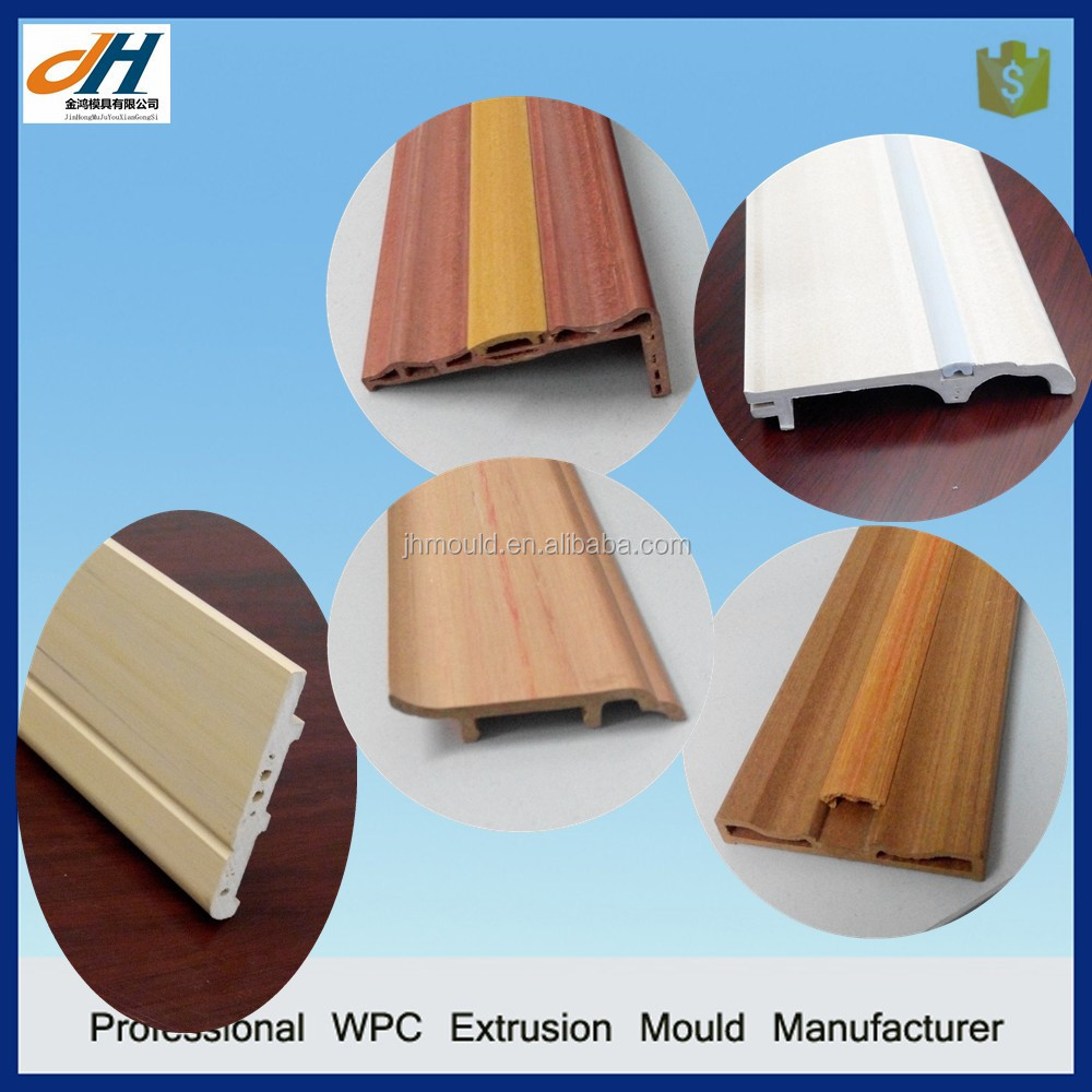 PVC Plastic Skirting Board Extrusion Die
