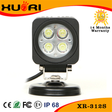 3inch 12W LED Driving Light Square Spot High Power LED Work Light for boat 4x4 Off-road SUV RV 4WD Truck 12V