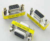 Gold Plating Vga 15 Pin female to female VGA Connector Adapter