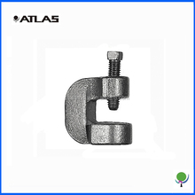 customized metal beam clamp C-type, heavy duty beam clamps also available
