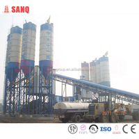 Chinese plant on production of concrete HZS60 Conveying Belt 60m3/h