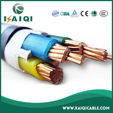 0.6/1kV low voltage 1~630mm2 PVC / XLPE insulated kabel elektrik